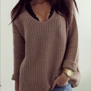 Charlotte Russe Lightweight Knit Sweater